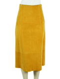 Elizabeth And James Suede A-Line Midi Skirt w/ Tags - eKlozet Luxury Consignment