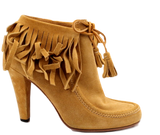 GUCCI 'SOFTY TEK' FRINGE BOOTIES - eKlozet Luxury Consignment