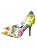 Guess by Marciano Floral Pumps  Left Side- eKlozet Luxury Consignment
