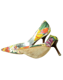Guess by Marciano Floral Pumps  Soles- eKlozet Luxury Consignment