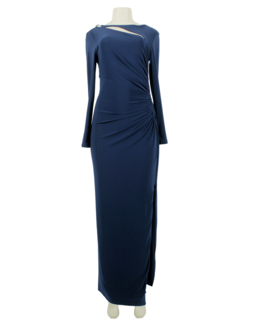 Lauren Ralph Lauren Evening Long Sleeve Gown