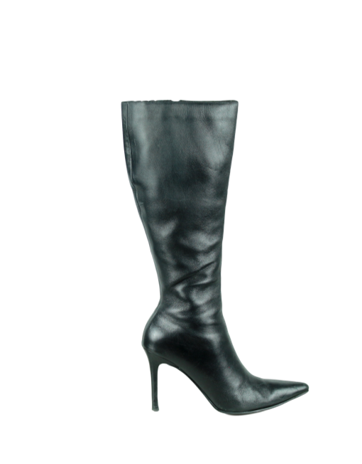 COLIN STUART Leather Knee Length Boots - eKlozet Luxury Consignment