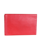 LAURIGE Leather Travel Envelope Clutch