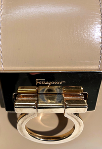 Salvatore Ferragamo Leather Gancini Bag