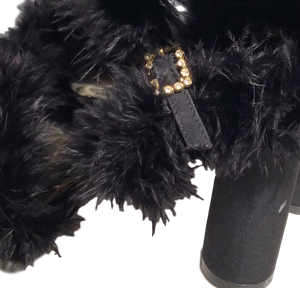 DREAMLINE FUR SANDALS