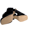 DREAMLINE FUR SANDALS - eKlozet Luxury Consignment