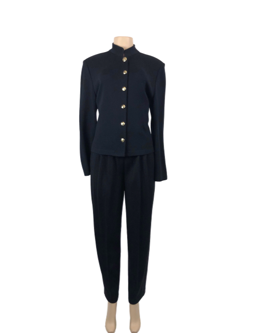 St. John Basics Long Sleeve Jacket - eKlozet Luxury Consignment