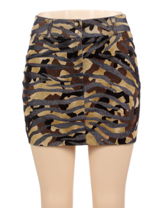 EXPRESS CAMOUFLAGE MINI SKIRT