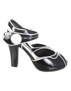 Chinese Laundry Patent Slingback Sandals - eKlozet Luxury Consignment