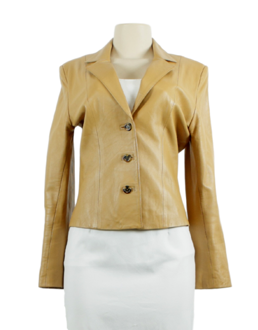 BELLE SPORT Leather Jacket - eKlozet Luxury Consignment