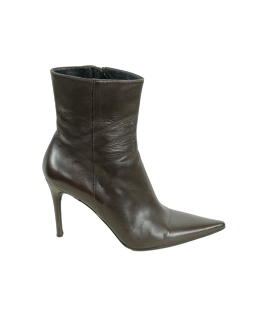 Gucci Pointed-Toe Ankle Boots - eKlozet Luxury Consignment