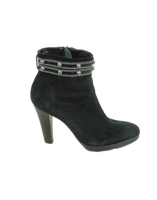 Nicole Miller Suede Ankle Boots - eKlozet Luxury Consignment