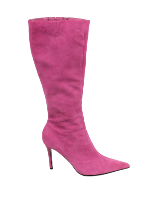 Colin Stuart Suede Knee Length Boots - eKlozet Luxury Consignment
