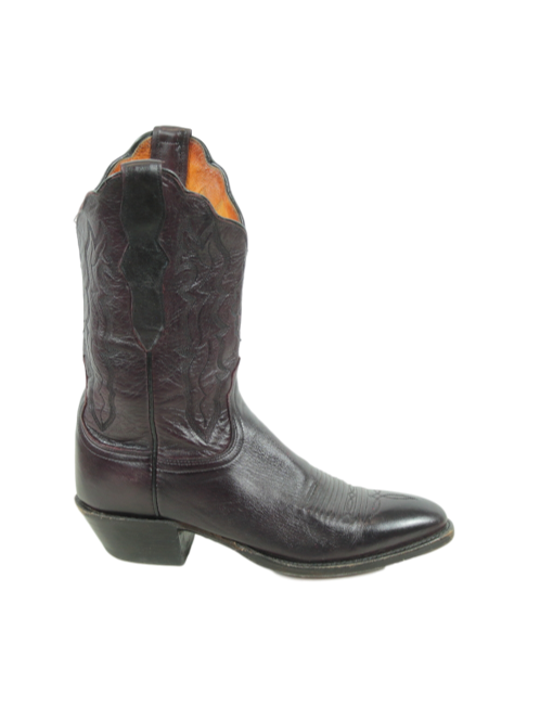 LUCCHESE Mid Calf Cowboy Boots - eKlozet Luxury Consignment