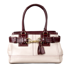 COACH HAMPTON CARRYALL SATCHEL - eKlozet Luxury Consignment