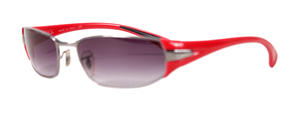 RAY-BAN SLEEK TINTED SUNGLASSES - eKlozet Luxury Consignment