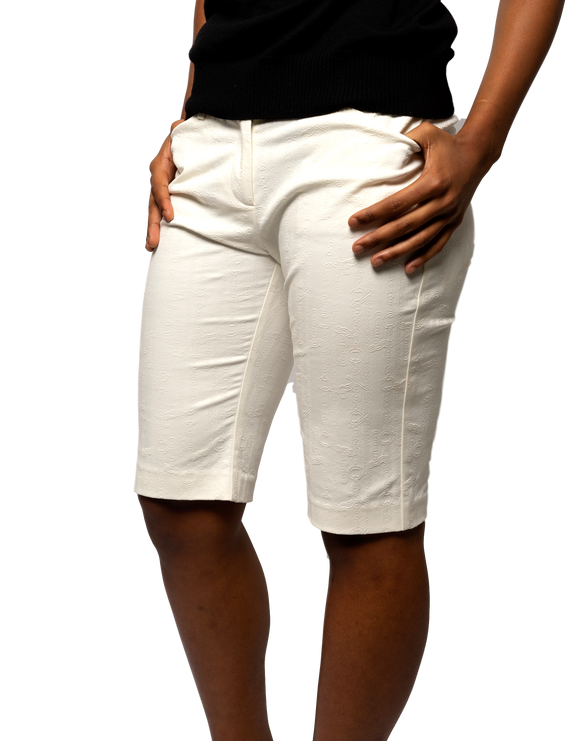 Embossed Long Shorts - eKlozet Luxury Consignment