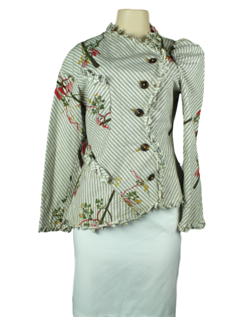 VIVIENNE WESTWOOD ANGLOMANIA Printed Blazer - eKlozet Consignment Boutique