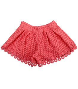 Mayoral Girl Lace Shorts