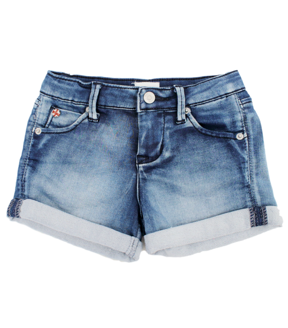 Hudson Girls' Five Pocket Denim Shorts - eKlozet Luxury Consignment