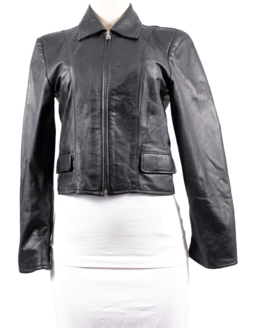 LEATHER FACTORY LEATHER JACKET - eKlozet Luxury Consignment