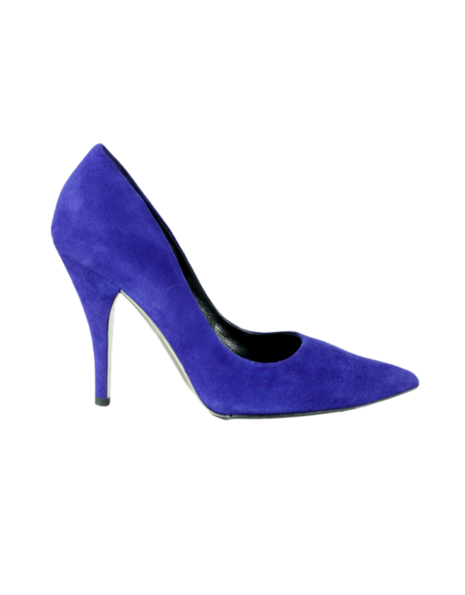 CALVIN KLEIN 205W39NYC Suede Pointed-Toe Pumps