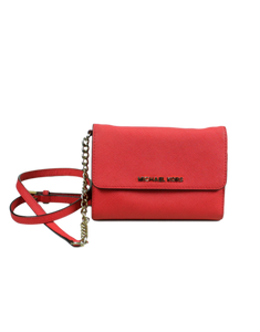 MICHAEL KORS Leather Crossbody Bag - eKlozet Luxury Consignment