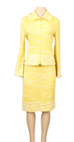 ST. JOHN TEXTURED KNIT SKIRT SUIT - eKlozet Luxury Consignment