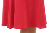 ST. JOHN KNIT FLAIR SKIRT