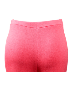 ST. JOHN COLLECTION KNIT PINK PANTS