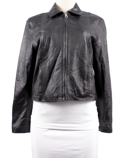 ITALIAN LEATHER JACKET - eKlozet Luxury Consignment