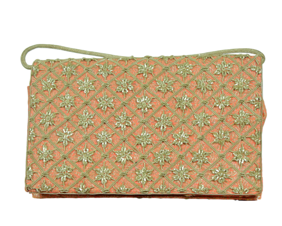 Vintage Embroidered Evening Bag