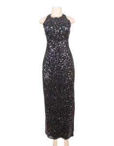 SCALA MULTICOLOR SEQUIN DRESS