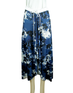 LATARTE Handmade Abstract Midi Skirt Front - eKlozet Luxury Consignment Boutique