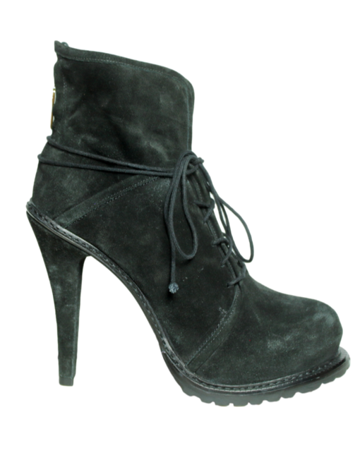 Elizabeth + James Suede Lace Boots - eKlozet Luxury Consignment