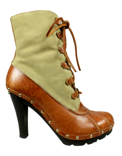 Michael Kors Duck Boots Side - eKlozet Luxury Consignment