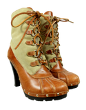 Michael Kors Duck Boots Front Side - eKlozet Luxury Consignment