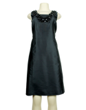 TORY BURCH Silk Knee-Length Dress Front - eKlozet Luxury Consignment