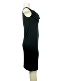 CLASS ROBERTO CAVALLI Cowl Neck Knee-Length Dress Side - eKlozet Luxury Consignment