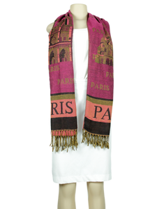 Paris Graphic Scarf