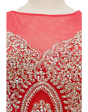 ROMANCE COUTURE BEADED GOWN - eKlozet Luxury Consignment