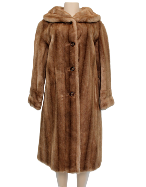 MINCARA BY RUSSEL TAYLOR VINTAGE FAUX FUR COAT Front | eKlozet Luxury Consignment Boutique