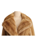 VINTAGE TISSAVEL FRANCE Faux Fur Coat Front  Collar| eKlozet Luxury Consignment