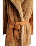 VINTAGE TISSAVEL FRANCE Faux Fur Coat Belt| eKlozet Luxury Consignment