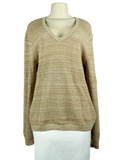 SEE BY CHLOE Long Sleeve V-Neck Sweater Front - eKlozet Luxury Consignment Boutique