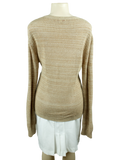 SEE BY CHLOE Long Sleeve V-Neck Sweater Back - eKlozet Luxury Consignment Boutique