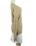 SEE BY CHLOE Long Sleeve V-Neck Sweater Side - eKlozet Luxury Consignment Boutique