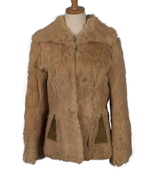 RICH'S VINTAGE RABBIT FUR COAT - eKlozet Luxury Consignment