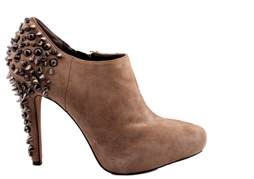 SAM EDELMAN SUEDE RENZO STUDDED ANKLE BOOT