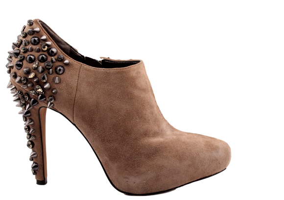 SAM EDELMAN Suede 'Renzo' Studded Ankle Boots - eKlozet Luxury Consignment
